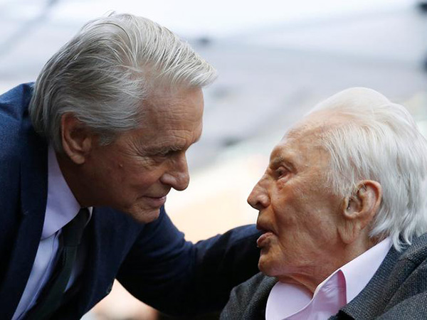 Kirk Douglas' $61M fortune given mostly to charity, none went to son Michael Douglas