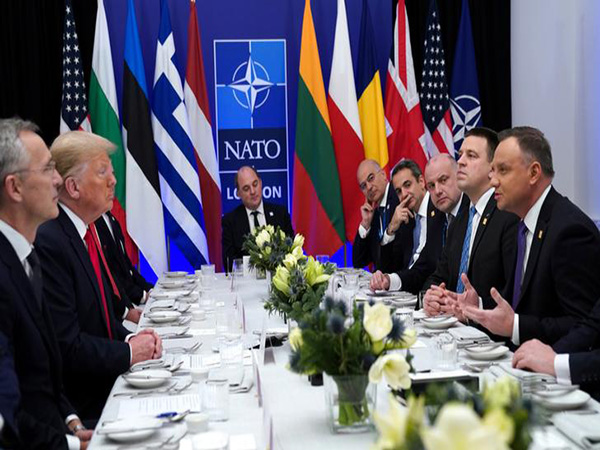 NATO leaders downplay divisions threatening military alliance