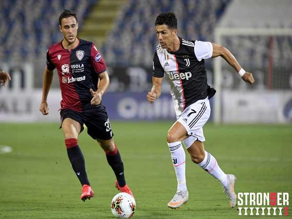Cagliari stun Juventus, Milan crash Sampdoria