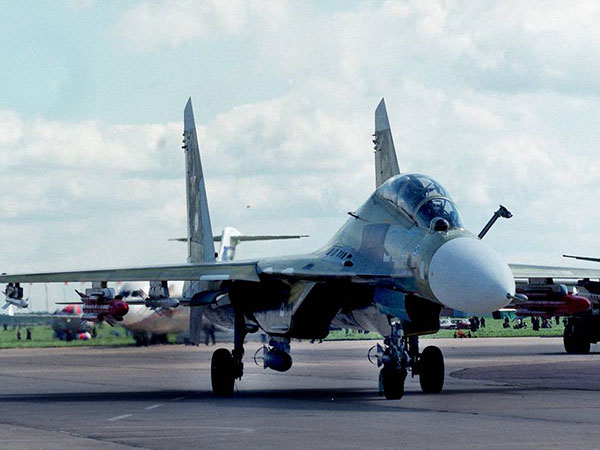 Russia completes deliveries of upgraded Su-30K fighters to Angola