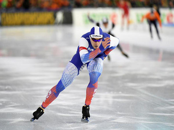 Russia sweeps men's 500m podium at ISU Speed Skating World Cup in Calgary