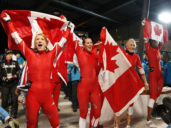 Kaillie Humphries victorious in bobsleigh World Cup debut with U.S.