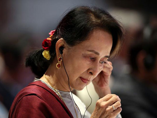 Rally held for Aung San Suu Kyi