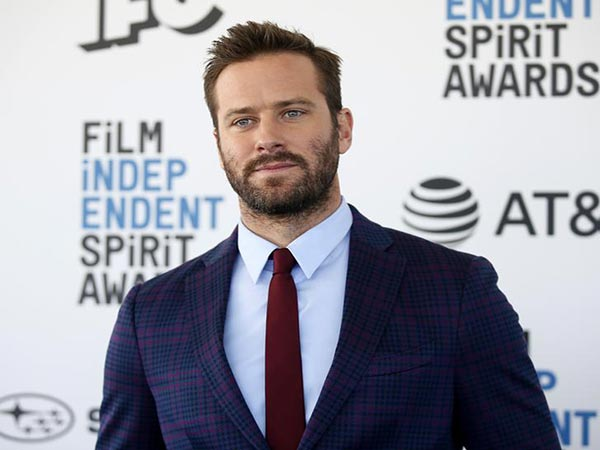 Armie Hammer calls out Marvel Entertainment exec for Trump financial contributions