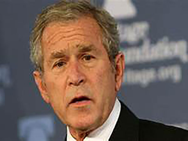 George W. Bush issues call to unite during pandemic: 'We are human beings,' not 'partisan combatants'