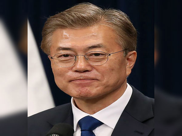 Moon attends tree-planting day event at historic power plant site