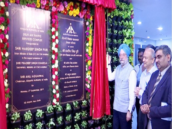 Civil Aviation Minister inaugurated new ATC tower at IGI airport on Monday.