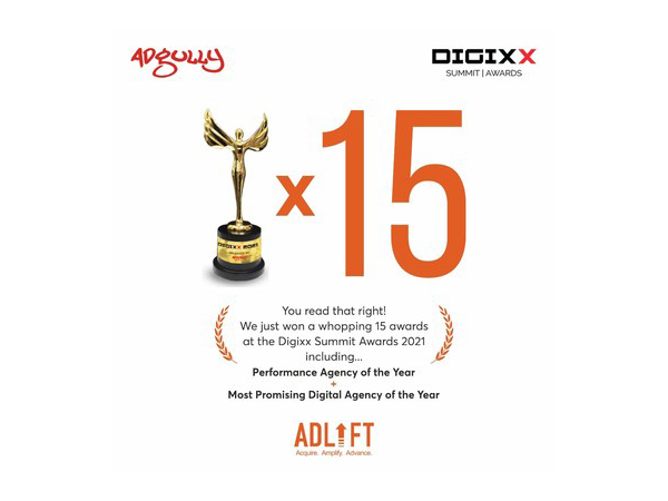 AdLift sweeps the biggies at Adgully Digixx Awards 2021 with 15 trophies