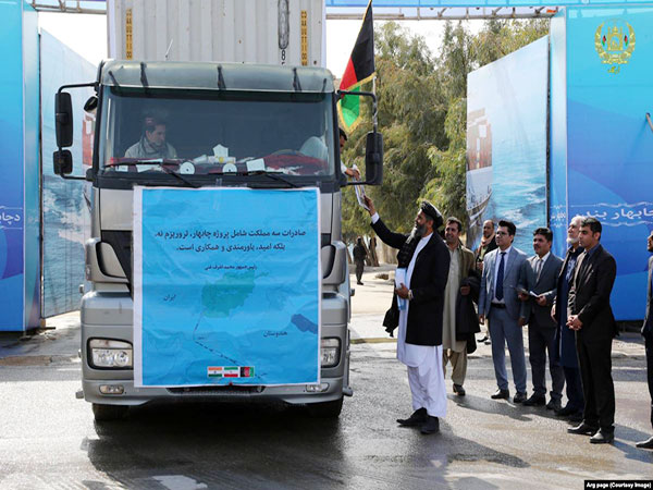 First Shipment Of Afghan Goods En Route To Azerbaijan