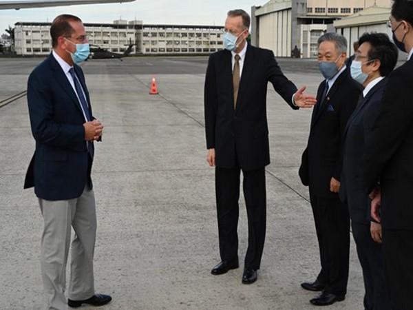 China slams US Health and Human Services Secretary Alex Azar's Taiwan visit