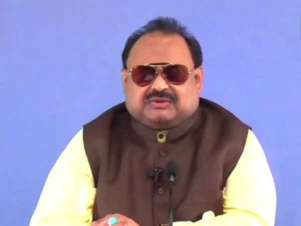 Muttahida Qaumi Movement's (MQM) founder Altaf Hussain (file photo)