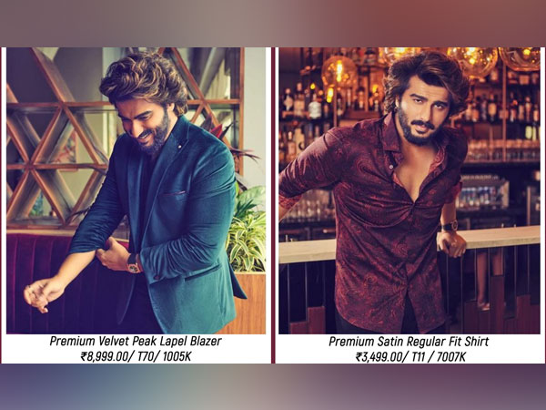 Arjun Kapoor looks dapper in marks & spencer's new occasion wear collection on mansworld cover