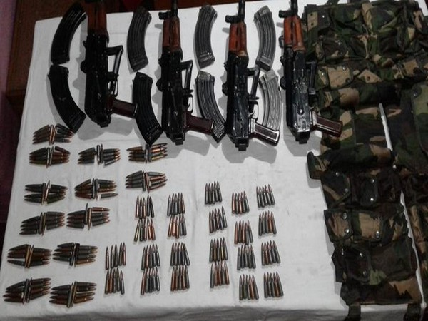 Indian Army thwarts Pak-backed terrorists' bid to smuggle weapons into J-K, recovers rifles, ammunition