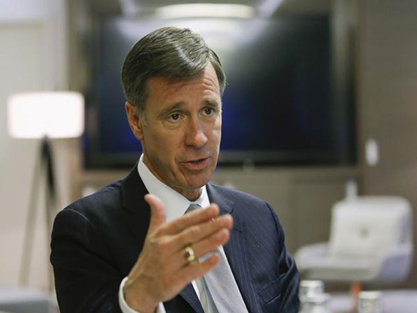 Marriott CEO to begin pancreatic cancer treatment