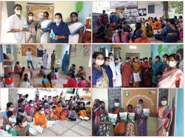 BBG Foundation collaborates with ANM, ASHA & anganwadi workers