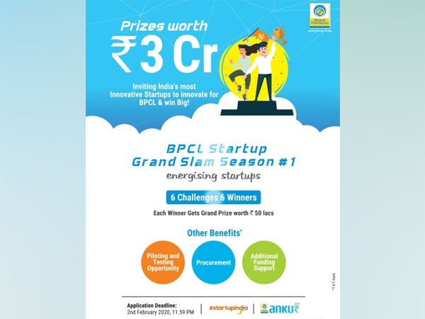 BPCL launches Start-up Grand Slam with mega prize money