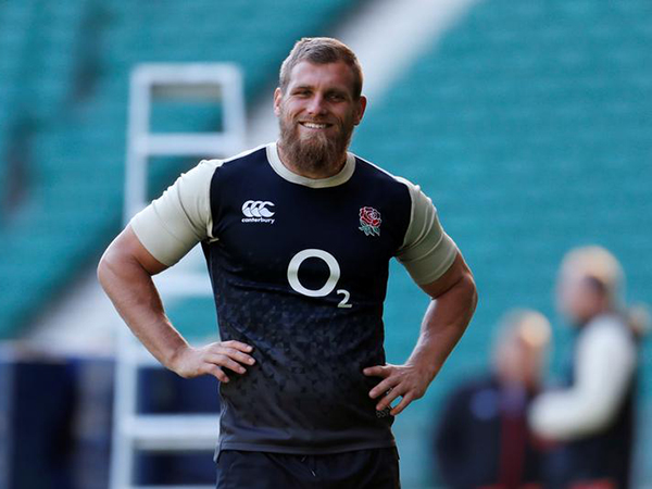 Brad Shields back to full training before England's Six Nations opener