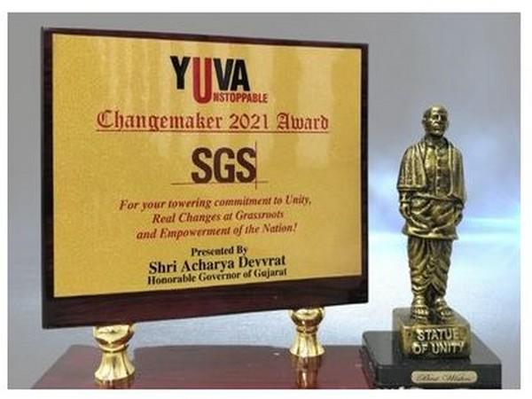 SGS India conferred The Changemaker Award 2021 for development work undertaken in government schools across India