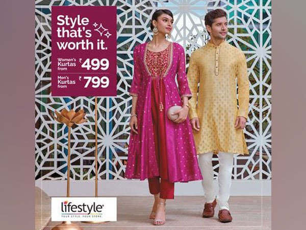 Lifestyle presents an all-new festive collection curated at great prices by Mimi Chakraborty