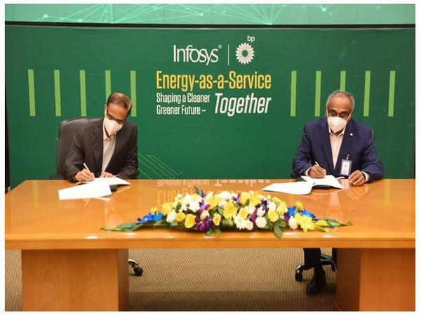 bp and Infosys to develop 'Energy as a Service' Solution for campuses and cities
