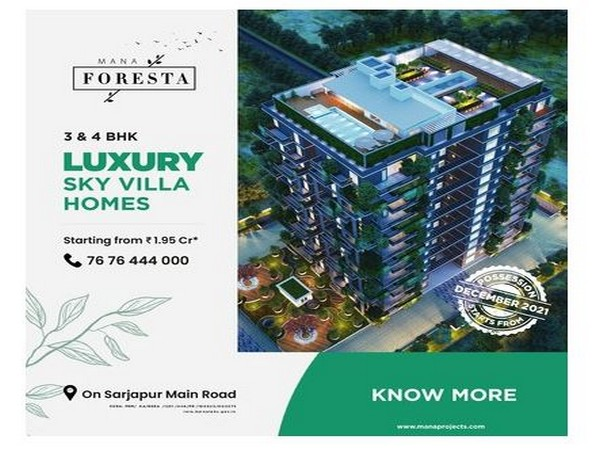 Exploring Mana Foresta: India's first vertical forest tower by Mana Projects Pvt Ltd