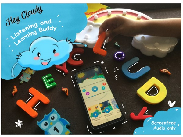 HeyCloudy, India's first screen-free audio listening and learning app for kids