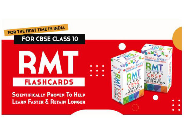 CBSE 10th Board Exams 2021:  RMT Cards (First launch in India) to revise, memorize & test yourself for a big score in last 20 days