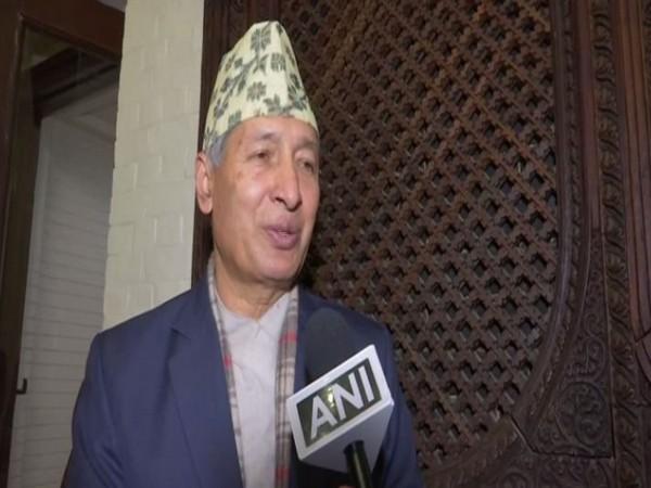 Nepal's Finance Minister Yuba Raj Khatiwada.