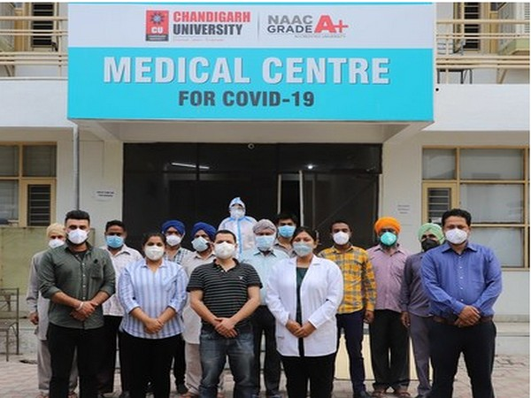 Chandigarh University COVID Care facility comes to the rescue of corona patients in Mohali and nearby villages