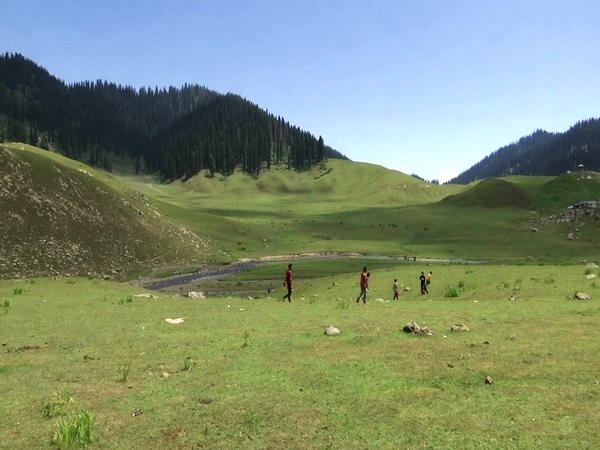 Bangus Valley in Jammu and Kashmir's Kupwara district. (Photo/ANI)