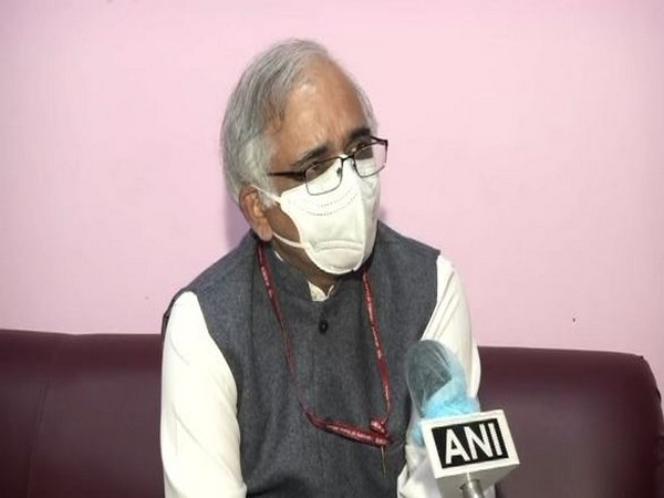 CSIR Director-General Dr Shekhar C Mande speaking to ANI on Tuesday.