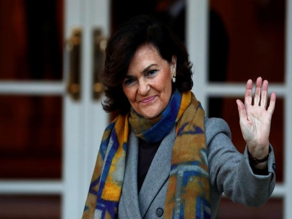 Spain's Deputy PM Carmen Calvo tested positive for coronavirus