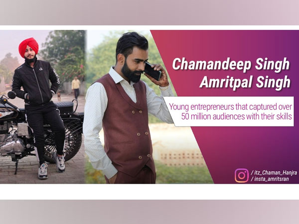 Chamandeep Singh and Amritpal Singh