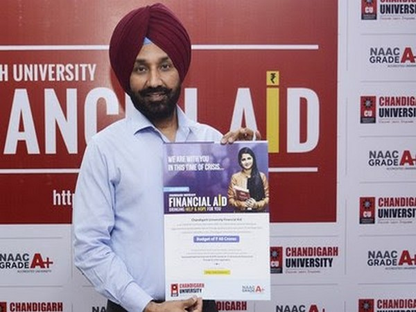 Chandigarh University extends helping hand for meritorious and economic weaker students through its Financial Aid Program