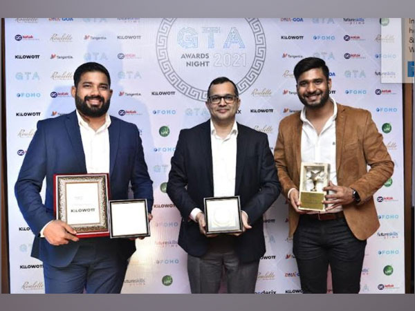 Kilowott bags two awards at prestigious Goa Technology Association Awards