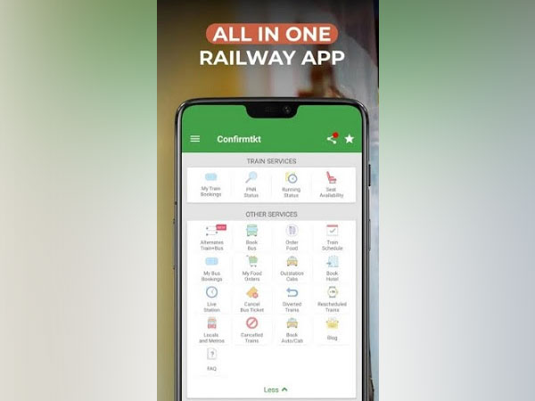 Online train ticket discovery and booking app Confirmtkt crosses 10 lakh booking