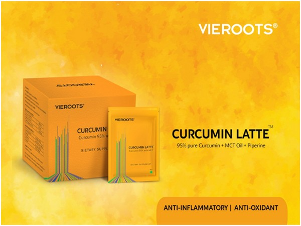 Vieroots launches Curcumin Latte, for fighting Chronic Inflammation