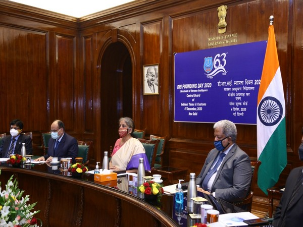 Finance Minister Nirmala Sitharaman inaugurated DRI's 63rd Founding Day Celebrations on Friday
