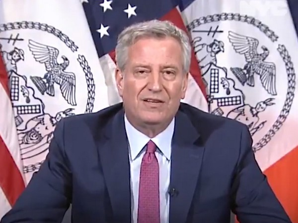 New York City Mayor Bill De Blasio (file photo)