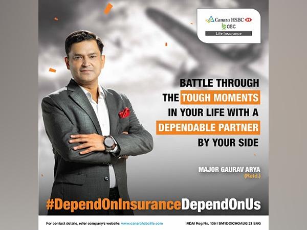 "Canara HSBC OBC Life Insurance launches the ""Depend on Insurance Season 2"" campaign with Retd. Major Gaurav Arya"