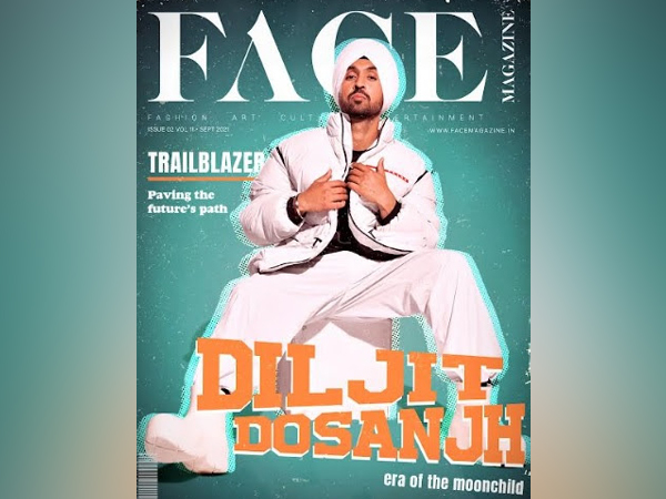 Music has emotions, Diljit Dosanjh adds those to the cover of Face Magazine