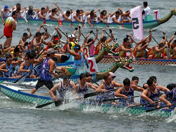 Unified Korea team wins dragon boat race at Asian Games