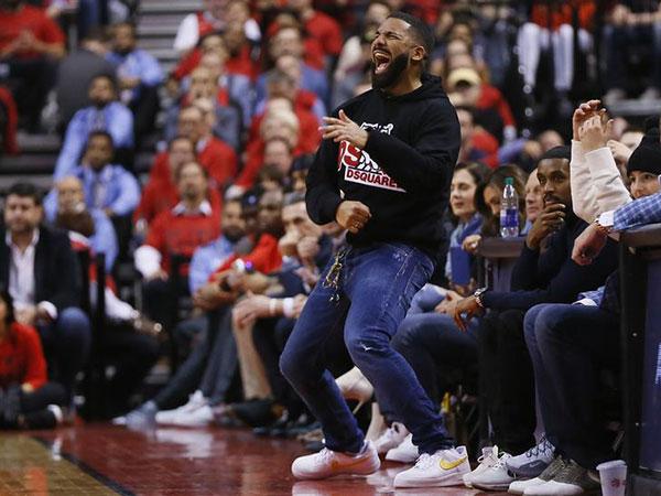 Drake's antics escalating with each Raptors victory