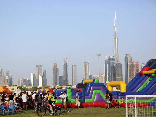 Dubai breaks records to becoming the world's 'most active city'