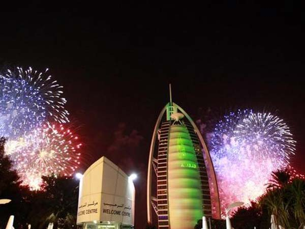 Dubai's New Year celebrations to be broadcast live to workers