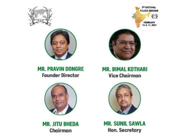 India Pulses and Grains Association (IPGA) successfully hosts the 3rd National Pulses Seminar 2021