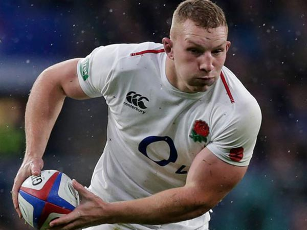 ENGLAND'S UNDERHILL AN INJURY DOUBT AHEAD OF SIX NATIONS