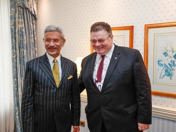Jaishankar accepts Lithuania counterpart's invite to visit Vilnius