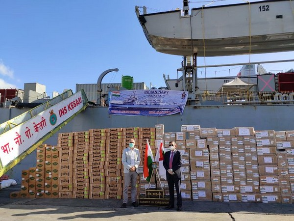 India provides second consignment of medical supplies to Mauritius