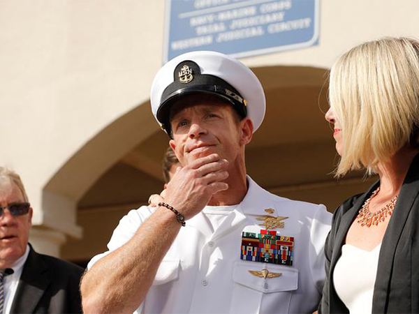 Navy SEAL Eddie Gallagher sentenced to reduced rank, partial pay, after being cleared of murder charges